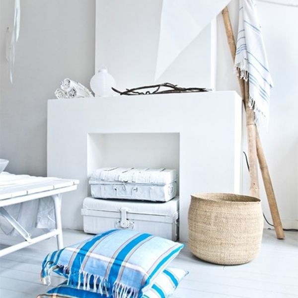 mand interieur wit schouw basket korb interior. Black Bedroom Furniture Sets. Home Design Ideas
