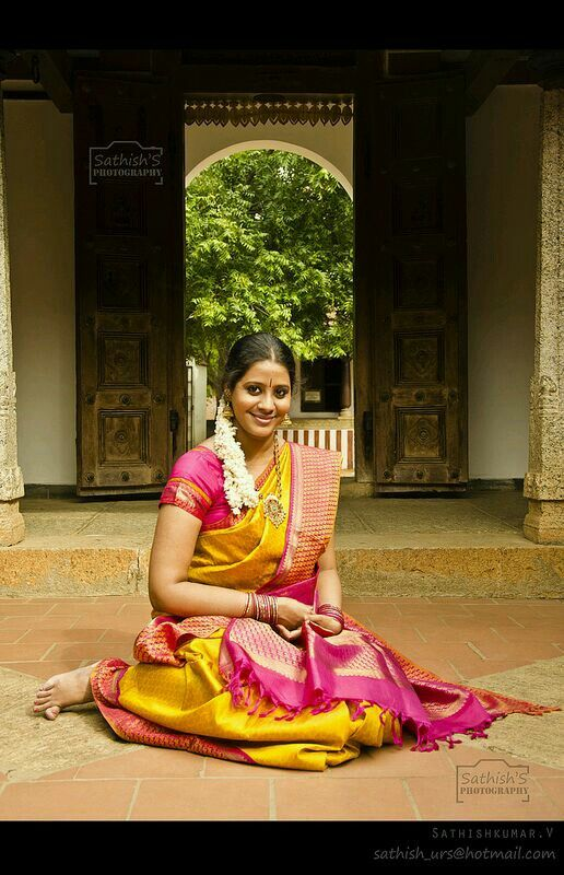Traditional tamil beauty