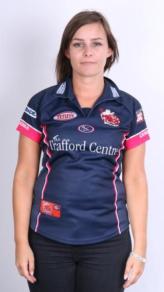 ISC Salford City Reds Womens 8 S Polo Shirt Sport Club Godliman & Watson - RetrospectClothes