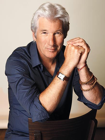 RICHARD GERE. one of People's sexiest men 2012. At age 63, he is such a silver fox :)