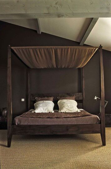15 best maisons du monde images on pinterest cabinets beach house and bed headboards - Bedspreads for four poster beds ...