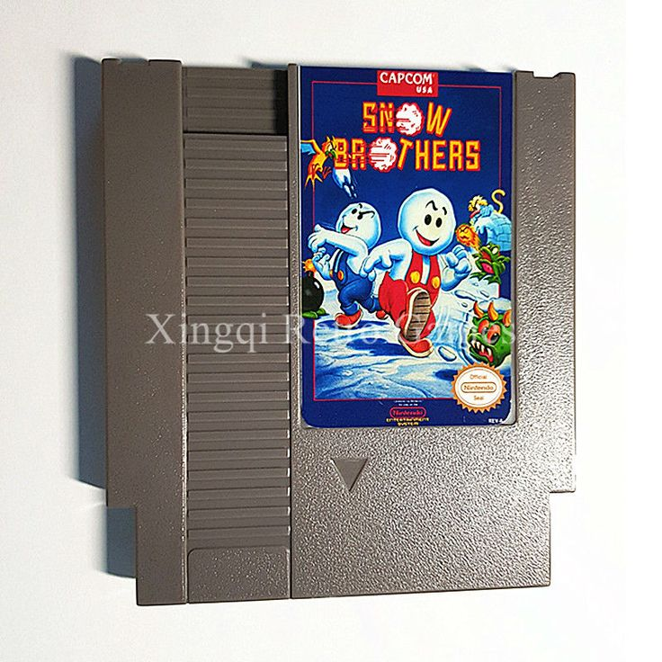 Nintendo Entertainment System NES Game Snow Brothers Video Game Cartridge Console Card US/EU Universal