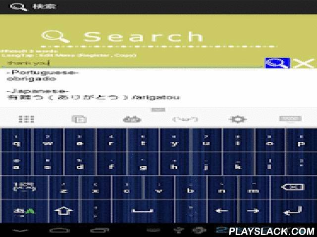 Portuguese Japanese Dictionary  Android App - playslack.com , This is free Portuguese Japanese English word dictionarySimple & EasyRecording words are total 45,300Realized a high-speed searchYou can also be used off-lineYou can also paste in a Email etc by copying words in this Portuguese Japanese English word dictionaryPortuguese Japanese English word dictionary has following three functions1.Search words in word dictionary(Portuguese Japanese English)2.Register to favorite words3.Save…