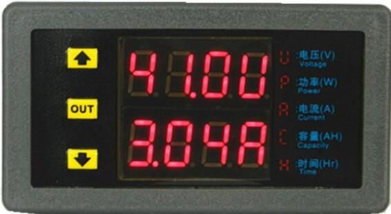 Multi-function Digital Double Display Electric Meter Vehicle Module Multi-meters VAM90100P For HHO EV car Solar With Shunt #Affiliate