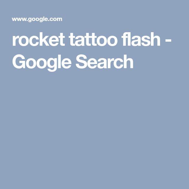 rocket tattoo flash - Google Search