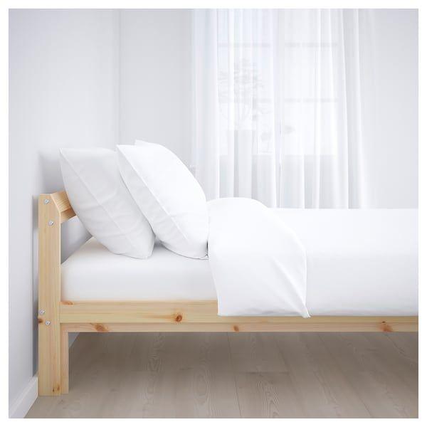 Neiden Bed Frame Pine Birch Luroy Full Pine Bed Frame Bed