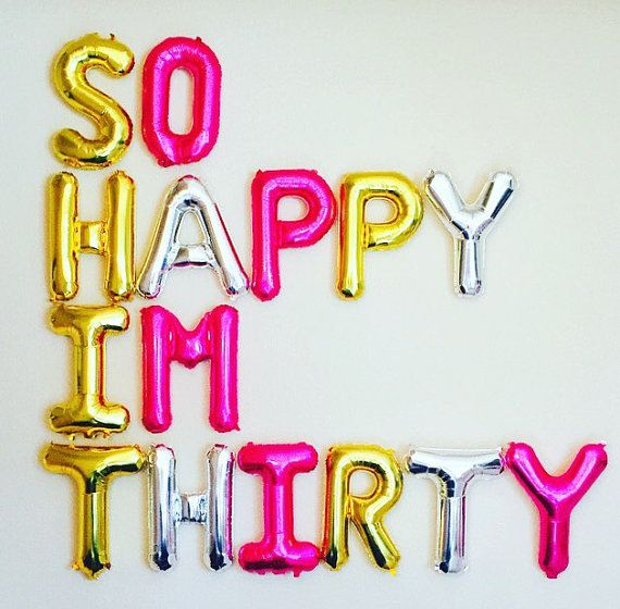 So Happy Im ThirtyDirty 30 Party Dirty 30 30th by girlygifts07
