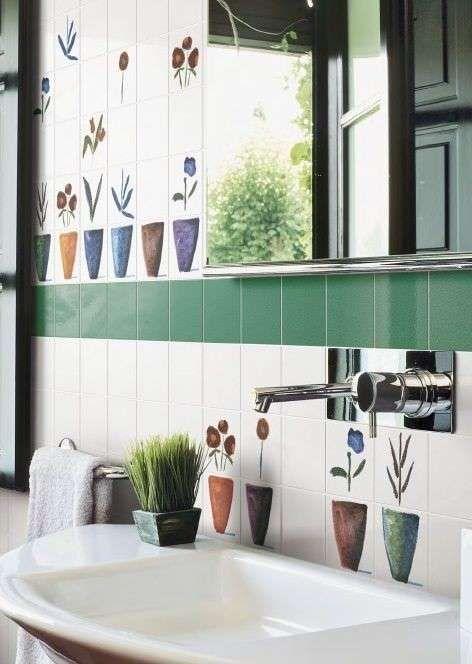 Oltre 25 fantastiche idee su pareti piastrellate da bagno - Decorare piastrelle ...
