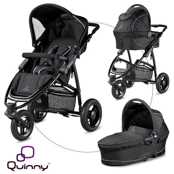 Quinny Speedi (Fast Black 2012) (ouder model uit 2012, niet meer op quinny website) reiswiegje in het donkerpaars