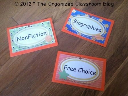 Classroom Library Solutions - The Organized Classroom Blog  http://www.theorganizedclassroomblog.com/index.php/blog/classroom-library-solutions