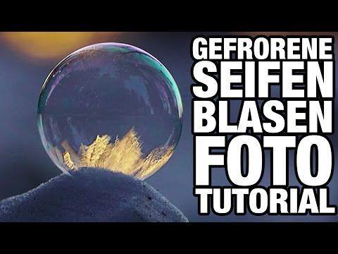 Gefrorene Seifenblasen fotografieren ❄️ Fotografie Tutorial Benjamin Jaworskyj - YouTube