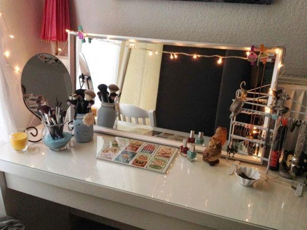 Ikea malm schminktisch  Die besten 25+ Malm frisiertisch Ideen auf Pinterest | Ikea ...