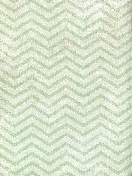Mint Green Chevron / 2636