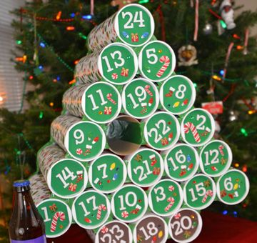 The Beer Tree I'd Like for Christmas
