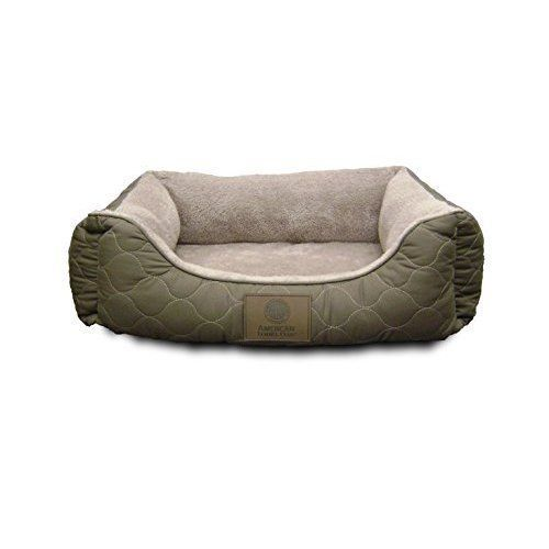 Pet Bed Cat Dog Round Bed Lounger Soft Warm Kennel 25'' Sleep Gray Brand New #PetBed