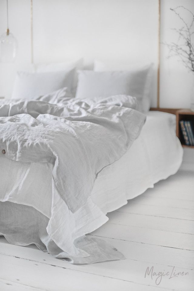 Light Grey Linen Duvet Cover Bed Linen Sets Linen Duvet Linen Duvet Cover Grey