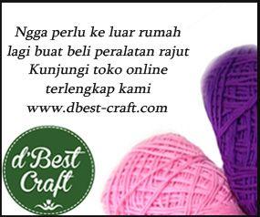 Pelajaran Dasar Crochet | Belajar Cara Merajut