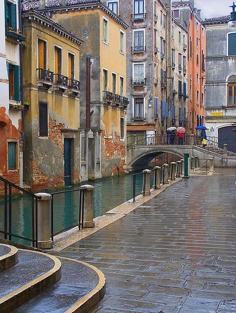 Cannaregio Rain, Venice,  Italy, province of Venezia Veneto