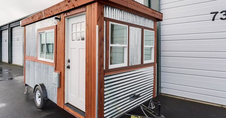 This 98-Sq-Ft Trailer Looks Tiny But Hidden Inside Is A BIG Surprise! via LittleThings.com