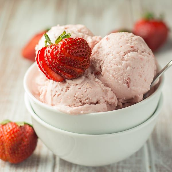Vegan Strawberry Coconut Ice Cream Recipe Coconut Ice Cream Vegan Ice Cream Recipes