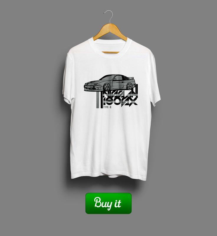 Type-X Nissan | #автомобиль #футболка #машина #tshirt #car #Nissan #Ниссан #Motor #Drive