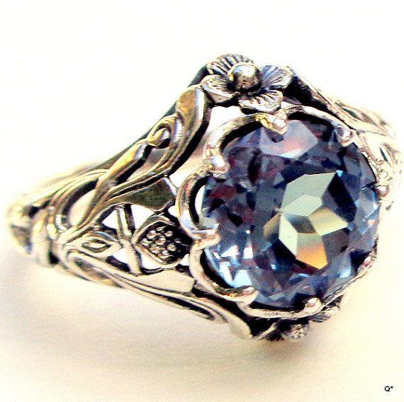 Purple Lace Onyx Ring Size 10