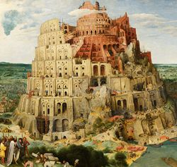 Tower of Babel by Pieter Bruegel. The Book of Invasions (known as Lebor Gabála Érenn in Irish), written in the 11th century, combined Irish mythology with biblical allusions. Find out more on Ireland Calling.