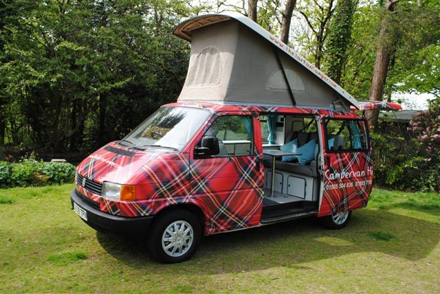 Tartan Camper Co has to be the coolest holiday idea if you are visiting Scotland. Cool Campervan Hire Holidays.