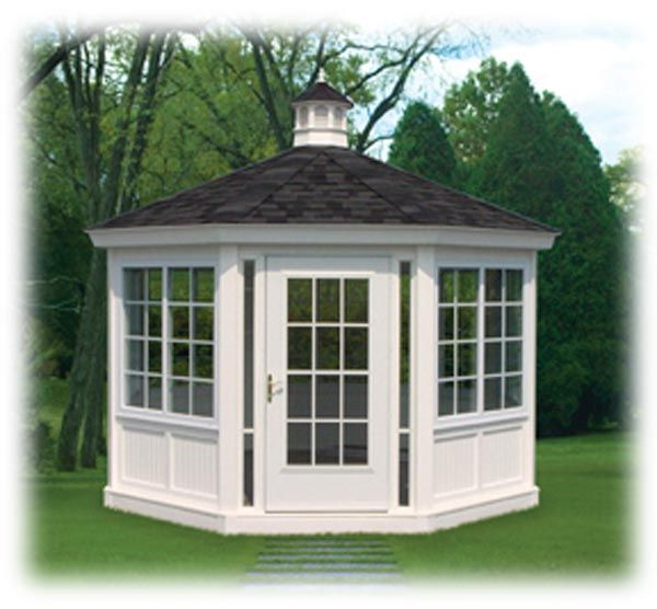 Best 25 enclosed gazebo ideas on pinterest screened in for Cal spa gazebo
