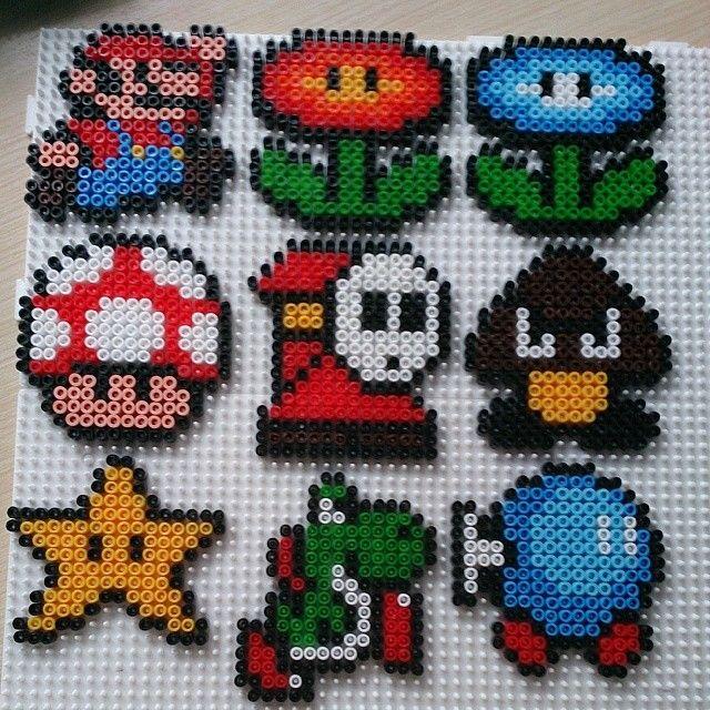 Super Mario hama beads by ana_isabl