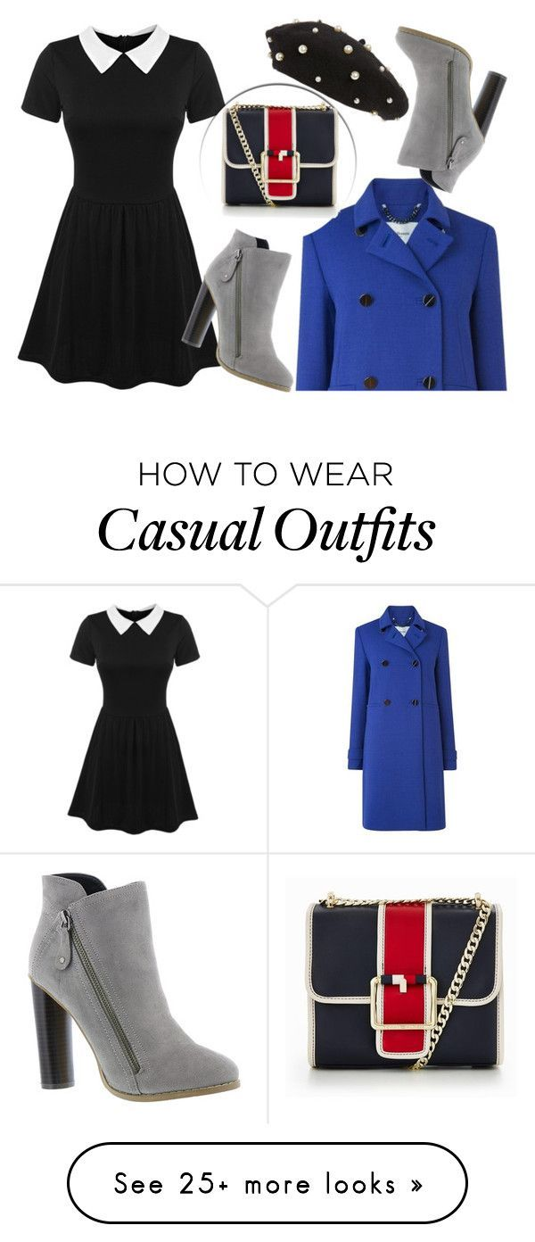 """""""Winter Outfit"""" by aletraghetti on Polyvore featuring Topshop, Michael Antonio and Tommy Hilfiger #winteroutfits"""