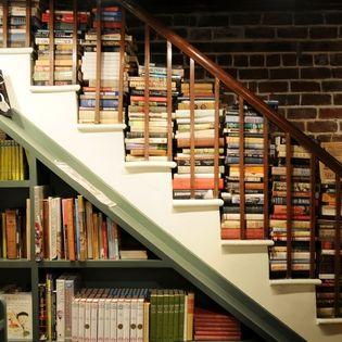 inside The Book Lady Bookstore, Savannah, Georgia