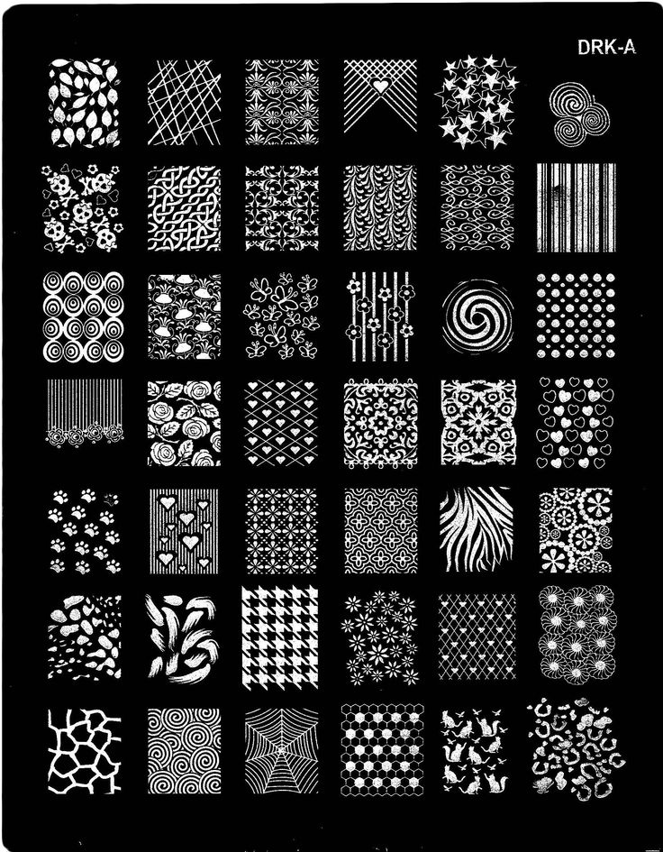 63 best nail art stamping plates images on Pinterest | Nail art ...
