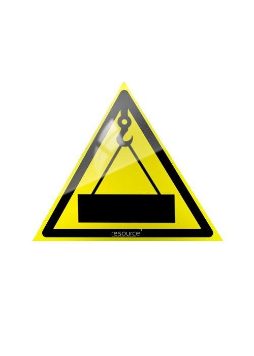 Осторожно, работает кран (Пленка) – купить знак