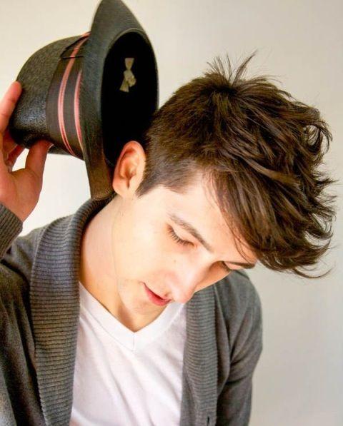 Angular Fringe Hairstyle Ideas For Men