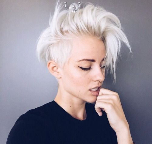 Fabulous 1000 Ideas About Shaved Pixie Cut On Pinterest Shaved Pixie Short Hairstyles For Black Women Fulllsitofus