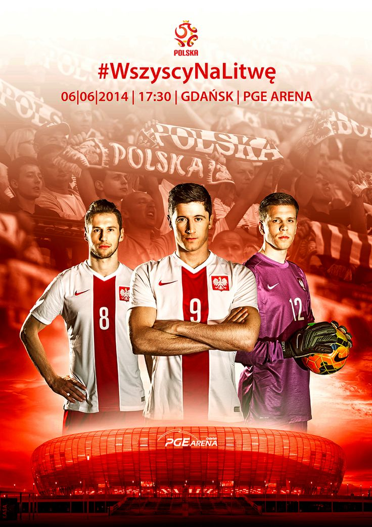 PZPN zaprasza na mecz Polska-Litwa 6 czerwca na PGE Arena w Gdańsku