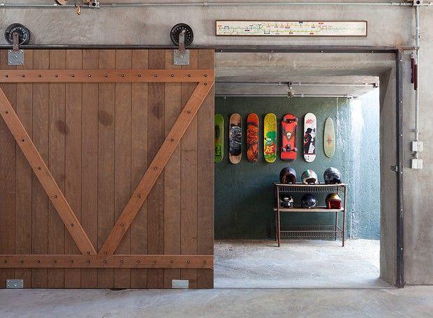 Casa do paisagista Gilberto Elkis - clubinho - garagem (Foto: Lufe Gomes/Editora Globo)