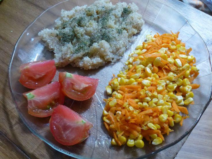 Vegan Quinoa withSalad