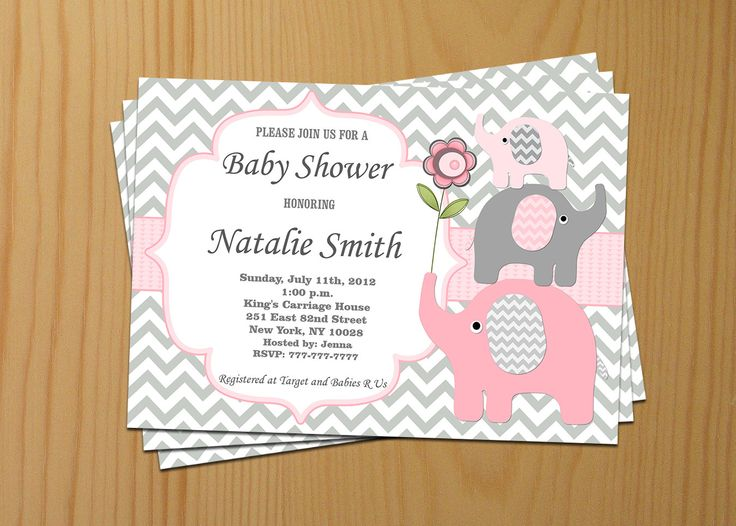 Boy Baby Shower Invite with perfect invitation sample