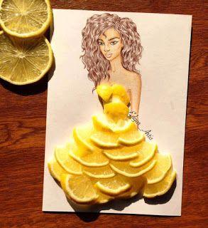 zhannadesignfromart: платье лимонка