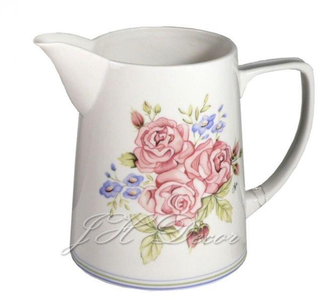 Zarah! Prachtige roze en blauwe bloemillustraties. http://www.worldofjet.com/102201-melkkan-zarah