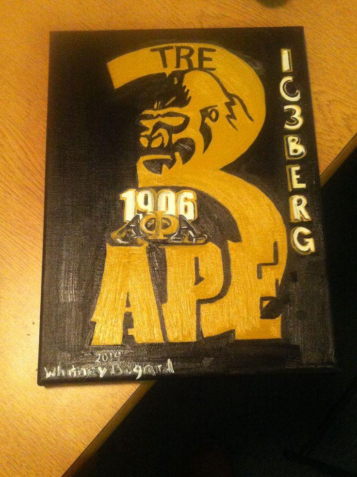 Alpha Phi Alpha crossing gift