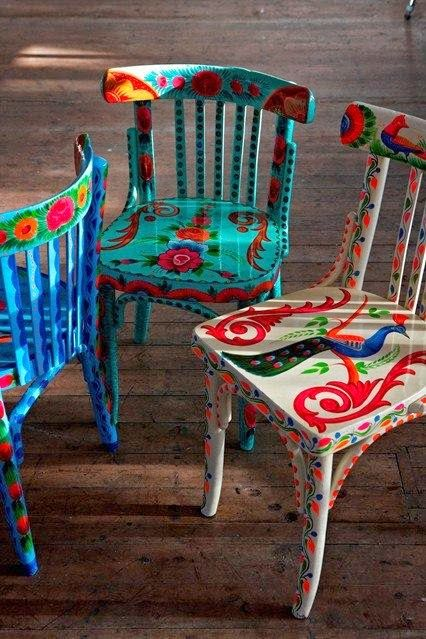 M s de 25 ideas incre bles sobre decoraciones mexicanas en for Sillas para unas acrilicas