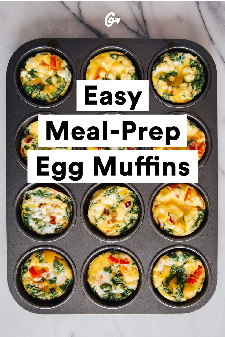 Not to be confused with a McMuffin. #greatist http://greatist.com/eat/meal-prep-guide-to-eggs