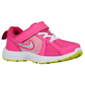 Nike Dual Fusion Run - Desert Pink/Atomic Green/Fireberry/Metallic Silver. AKA- Adorable!
