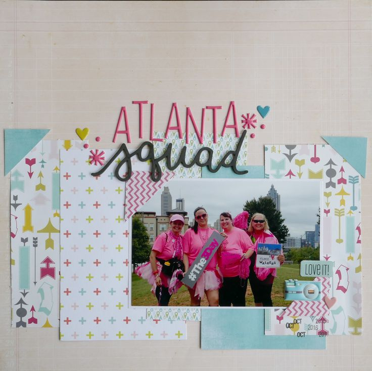 Atlanta Breast Cancer 3Day 2016 - Scrapbook.com