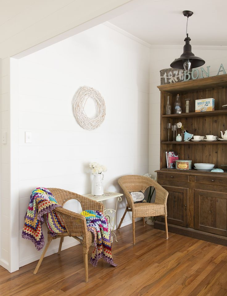 An original two-bedroom Lockwood home gets the white paint treatment - Homes To Love