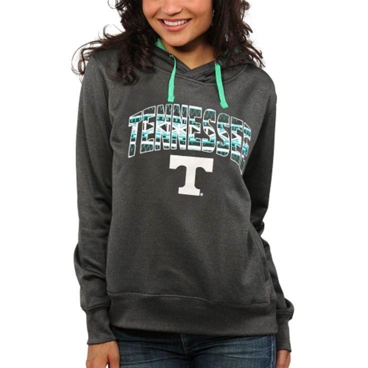 Tennessee Volunteers Women's Sport Fleece Hoodie - Charcoal