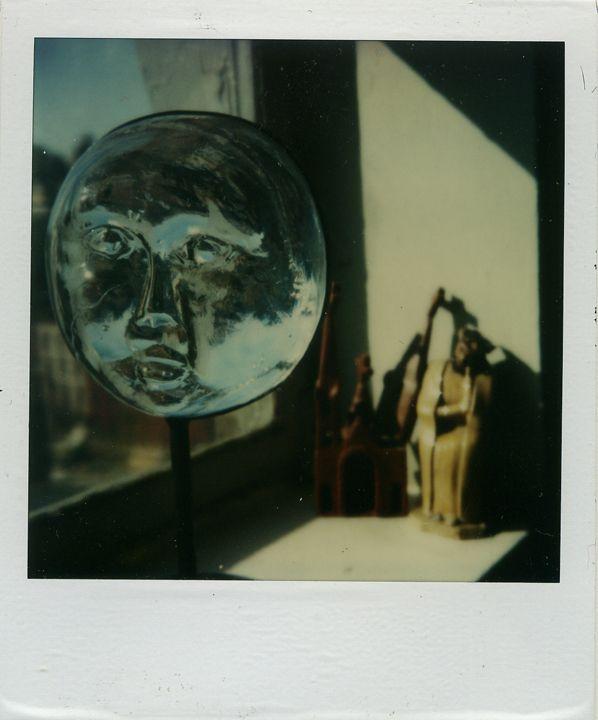 Andre Kertesz: May 1st, 1979 -  Medium: SX-70 Polaroid